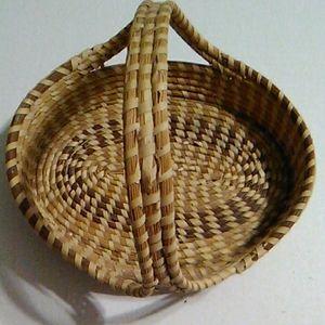 Sweetgrass Basket